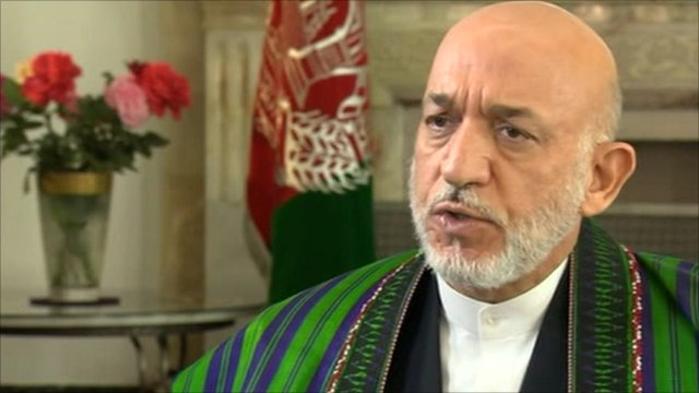 President Hamid Karzai 