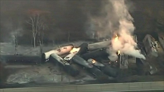 US train derailment