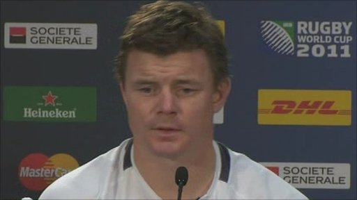 Brian O'Driscoll talks about Ireland's World Cup exit