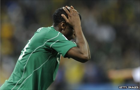 SUPER EAGLES FLOP