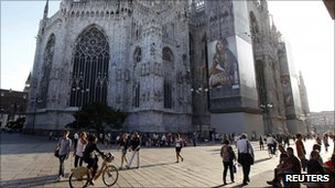 Milan&#039;s cathedral 