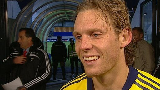 Scotland striker Craig Mackail-Smith
