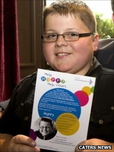 Harry Moseley (image courtesy of Caters News)