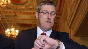 Acting Deputy First Minister John O&#039;Dowd