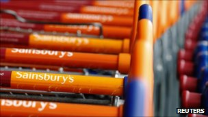Sainsbury's trolleys