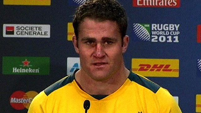 Australia captain James Horwill