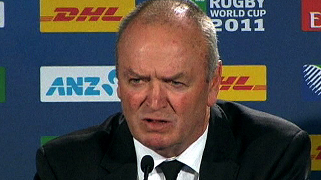 New Zealand coach Graham Henry