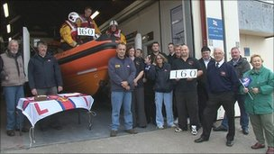 Newbiggin lifeboat station volunteers celebrate 160 years