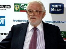 Ken Bates at a Leeds United press conference