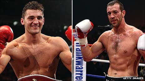 Nathan Cleverly and Enzo Maccarinelli
