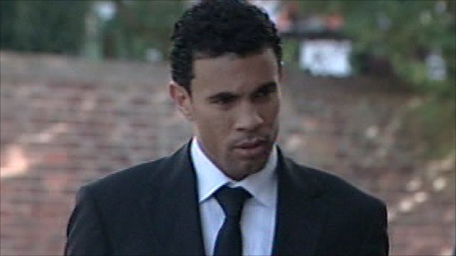Ipswich Town footballer Carlos Edwards