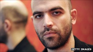 Roberto Saviano. March 2010