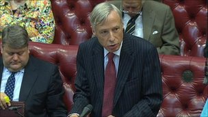 Earl Howe opens the NHS bill debate