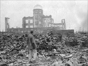 Devastation at Hiroshima