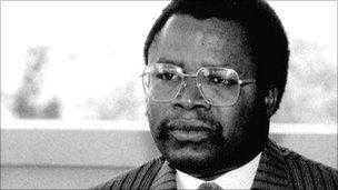 Former Liberian President Samuel Doe