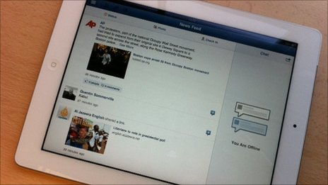 Facebook, iPad