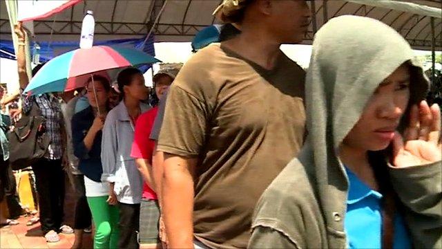 Queues in Thailand
