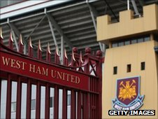 The Boleyn Ground at Upton Park