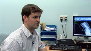 Orthopaedic surgeon Angus MacLean