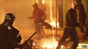 Riots in England in August 2011