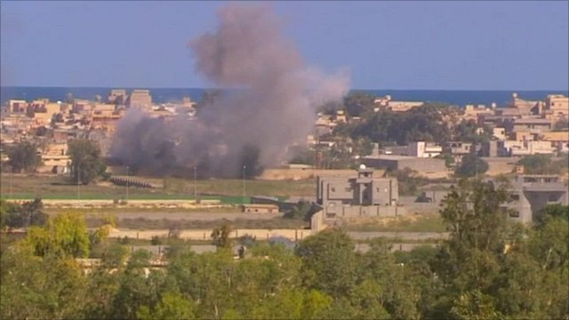 Sirte bombardment