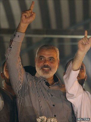 Hamas chief Khaled Meshaal (11/10/11)