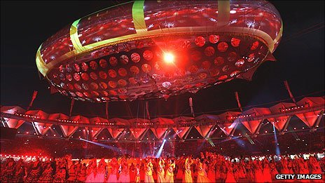 Delhi Commonwealth Games opening ceremony