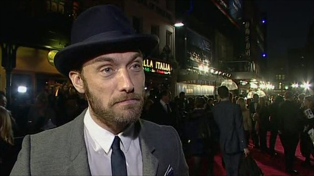 The BBC's Lizo Mzimba caught up with Jude Law to ask about his new film