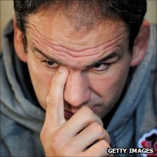 England rugby union coach Martin Johnson
