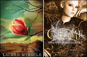 Shine by Lauren Myracle (Amulet Books) and Chume by Franny Billingsley (Bloomsbury)