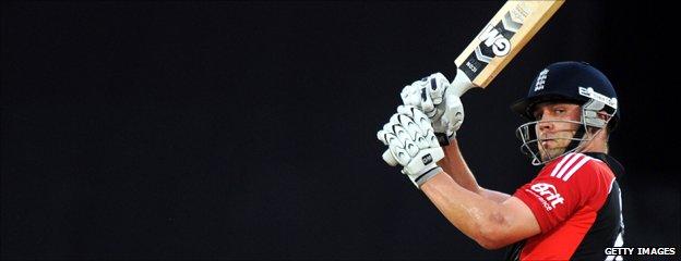 England cricketer Jonathon Trott