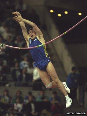 Sergei Bubka in 1995
