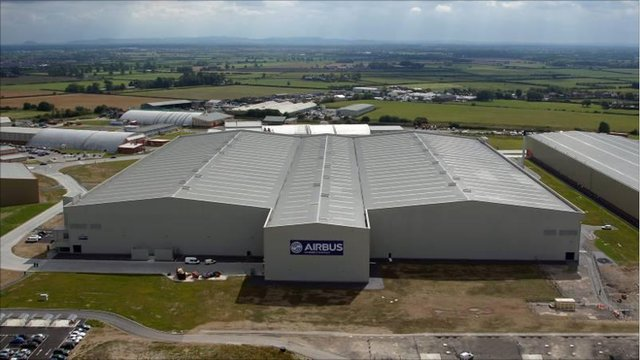Airbus' North Factory, Broughton