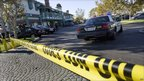 Crime scene at the mini mall in Seal Beach