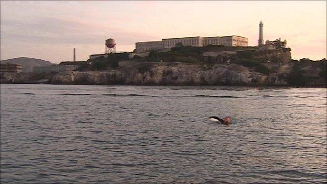 Ben Fogle Alcatraz swim