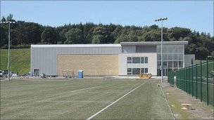 Celtic's Lennoxtown training facility