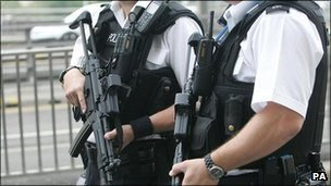 Armed police