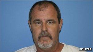 The alleged gunman, Scott Evans Dekraai, 42, in a police photo on 13 October 2011