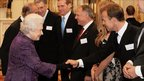 The Queen meets Jason Donovan