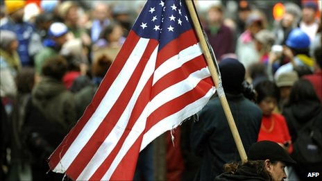 Occupy Wall Street protester at Zuccotti Park, 13 October 2011
