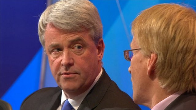 Andrew Lansley and Dr Phil Hammond