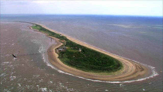 Spurn Point nature reserve, Humber Estuary