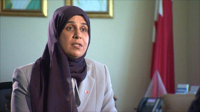 Minister Fatima Al Beloushi