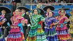 Traditional Mexican dancers at Pan American Games opening ceremony