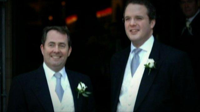 Dr Liam Fox and Adam Werritty