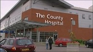 The County Hospital, Hereford - archive image