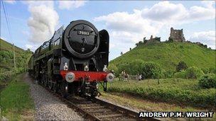 Oliver Cromwell locomotive