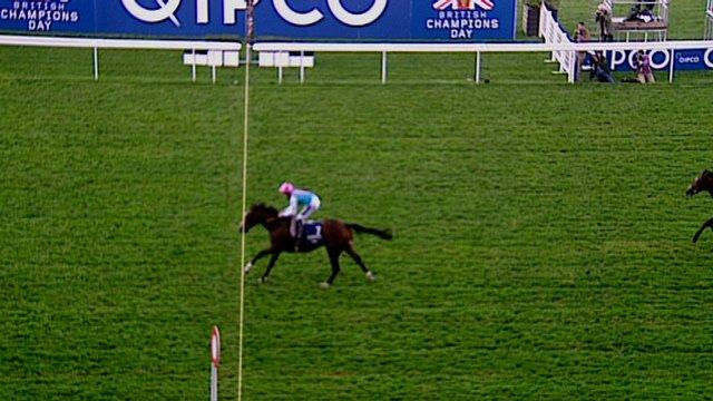 Frankel wins Queen Elizabeth II Stakes
