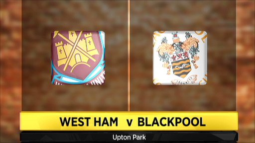 West Ham v Blackpool