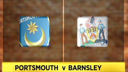 Portsmouth v Barnsley